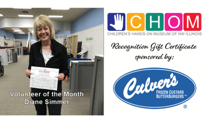 Volunteer of the Month: Diane Simmer